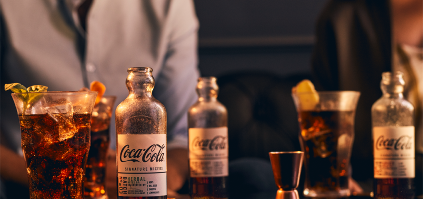 Coca-Cola Moves Into Mixology With Four Signature Mixers