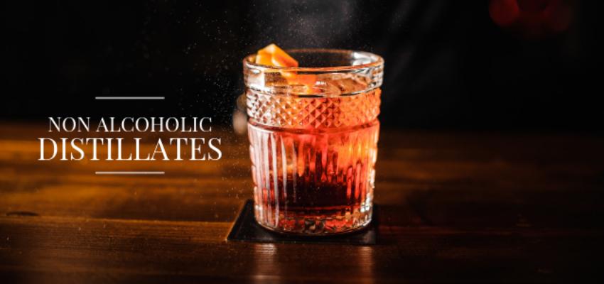 Non-alcoholic distillates leading the booze free beverage revolution
